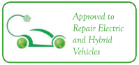 Approved to repaier electric and hybrid vehical